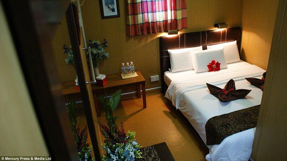Hotel Dari Pelantar Minyak Terbiar Di Sabah