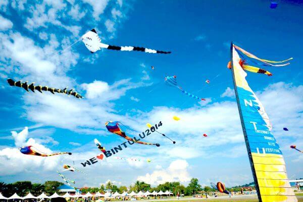 Borneo International Kite Festival 2018