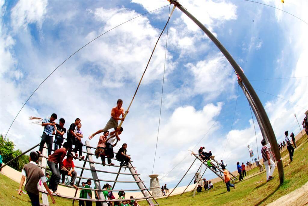 PISA' TIBOW Permainan Masyarakat Melanau