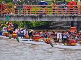 Jom Ke Sarawak International Dragon Boat Regatta 2018