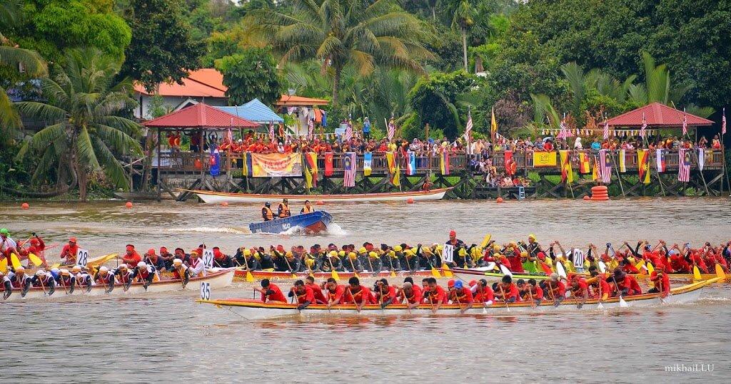 Jom Ke Sarawak International Dragon Boat Regatta 2018