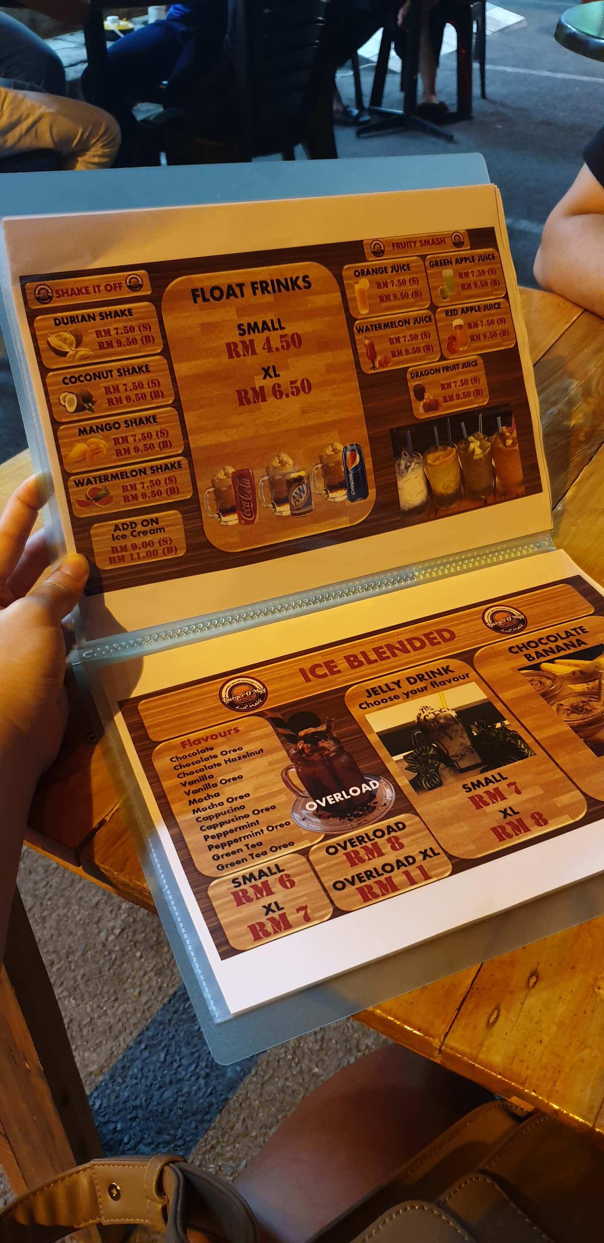 4 Makanan Yang Betul Betul Padu Di Burger O Myy
