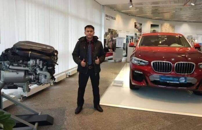 Anak Sarawak Dari Kapit Dapat Tawaran Kontrak 10 Tahun Dari BMW di Eropah