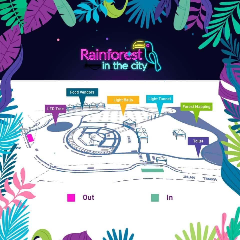 Rainforest In The City Meriahkan Bandaraya Kuching