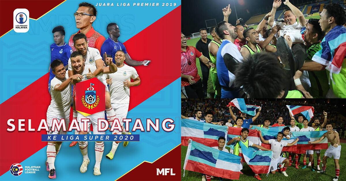 Sabah Cipta Sejarah Selepas 26 Tahun, Kini Layak Ke Liga Super
