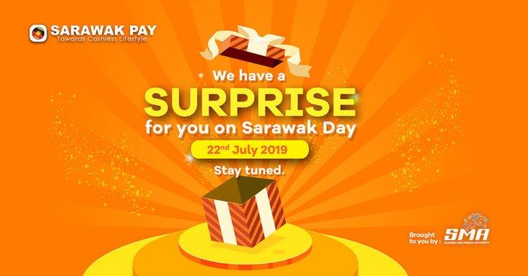 Kejutan Besar Bakal Menanti Pengguna Sarawak Pay Pada 22 Julai Ini