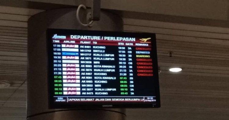 Lampu Landasan Rosak, 12 Penerbangan Dari Sibu Dibatalkan