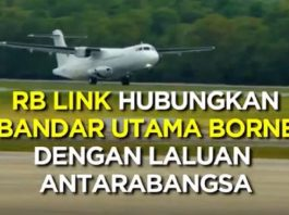 RB Link, Penerbangan Terbaru Hubungkan 7 Bandar Borneo Dengan Laluan Antarabangsa