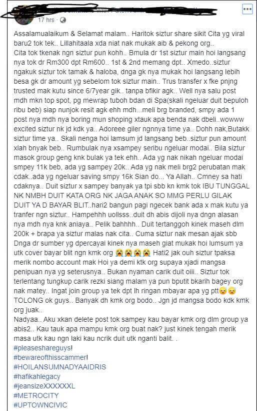 Tahukah Anda Main Kutu Adalah Haram dan Pesalah Boleh Didenda Sehingga RM500k
