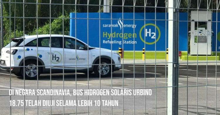 Inilah 4 Sebab Mengapa Bas Hidrogen Sarawak Perlu Jalani Trial