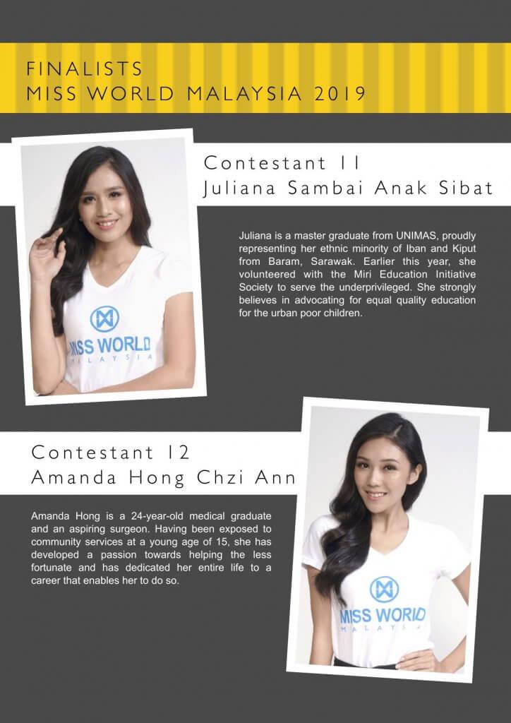 Gadis Iban-Kiput Ini Tersenarai Ke Final Miss World Malaysia 2019