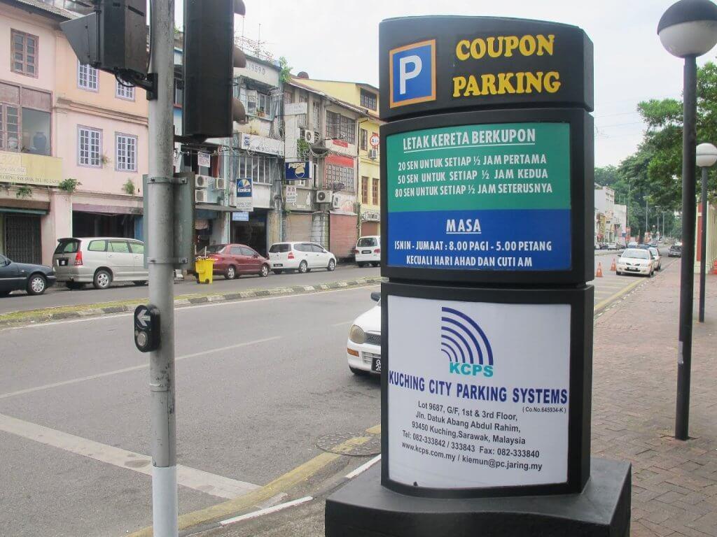 Kupon Parking di Kuching Ada 3 Warna? Ini Cara Display yang Betul