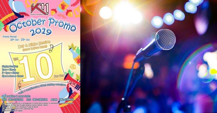 Karaoke Sampai Puas! Pusat Karaoke K11 Tawar Harga Promo RM10 Sahaja!