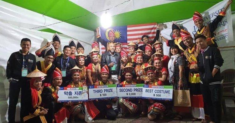 Tarian Suku Kaum Bidayuh Salako Harumkan Nama Malaysia di Korea