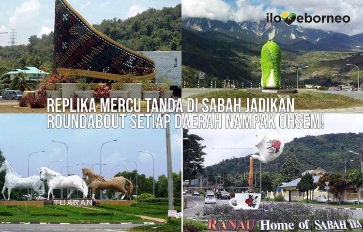 Roundabout Mantul yang Anda Hanya Jumpa di Sabah!