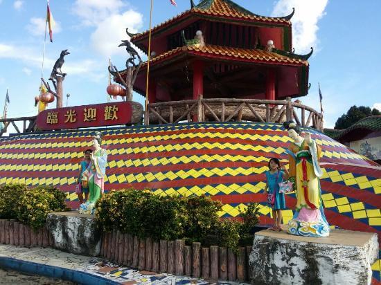 Tokong Cina Landmark Keramat Sibu, Salah Satunya Yang Terbesar di Asia Tenggara