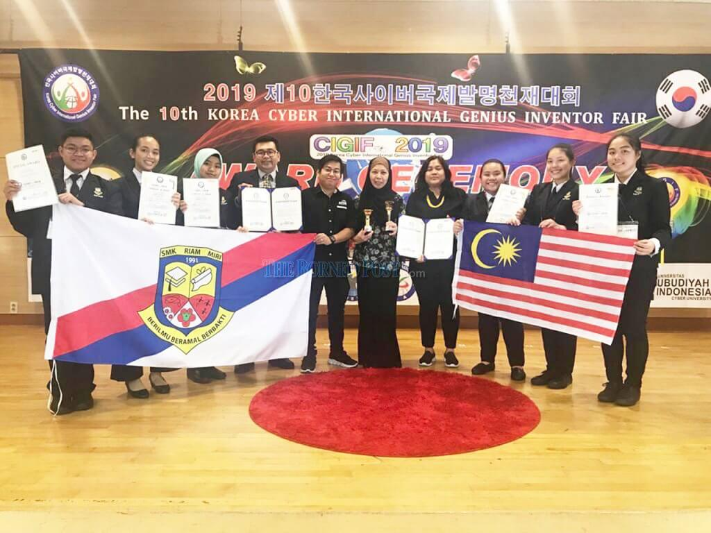 Pengganti MSG Idea Pelajar Sarawak Menang Anugerah Siber Genius Antarabangsa di Korea