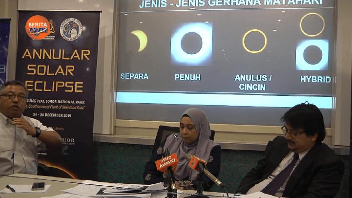 Peluang RARE Saksikan Gerhana 'Cincin Cahaya' di Serian Selepas 21 Tahun