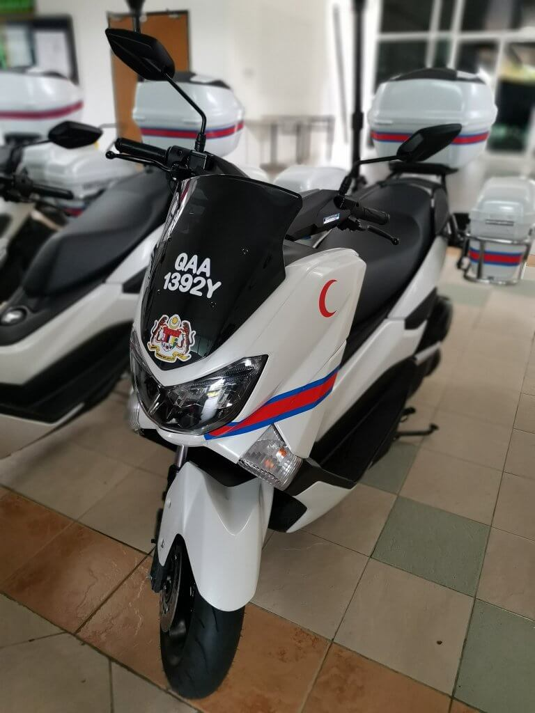 First Medical Respond Guna Skuter Bakal Dilancarkan di Sarawak