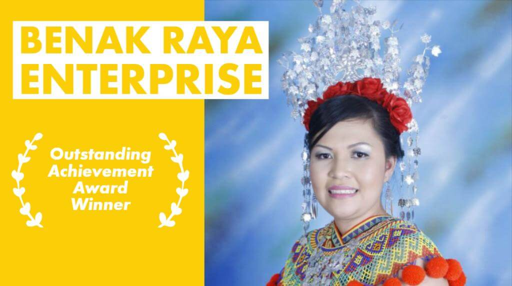 Wanita Sarawak Cipta Straw Beras Bario Menang Anugerah Outstanding Achievement di Shell LiveWIRE 2019