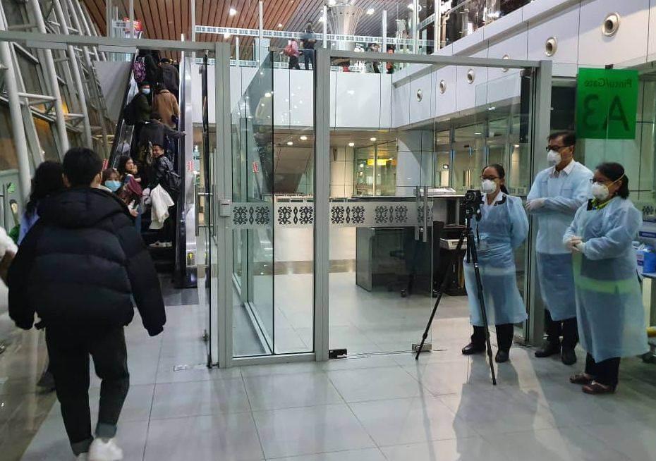 Ekoran Coronavirus di Wuhan, KKIA Sabah Perketat Saringan Terhadap Penumpang