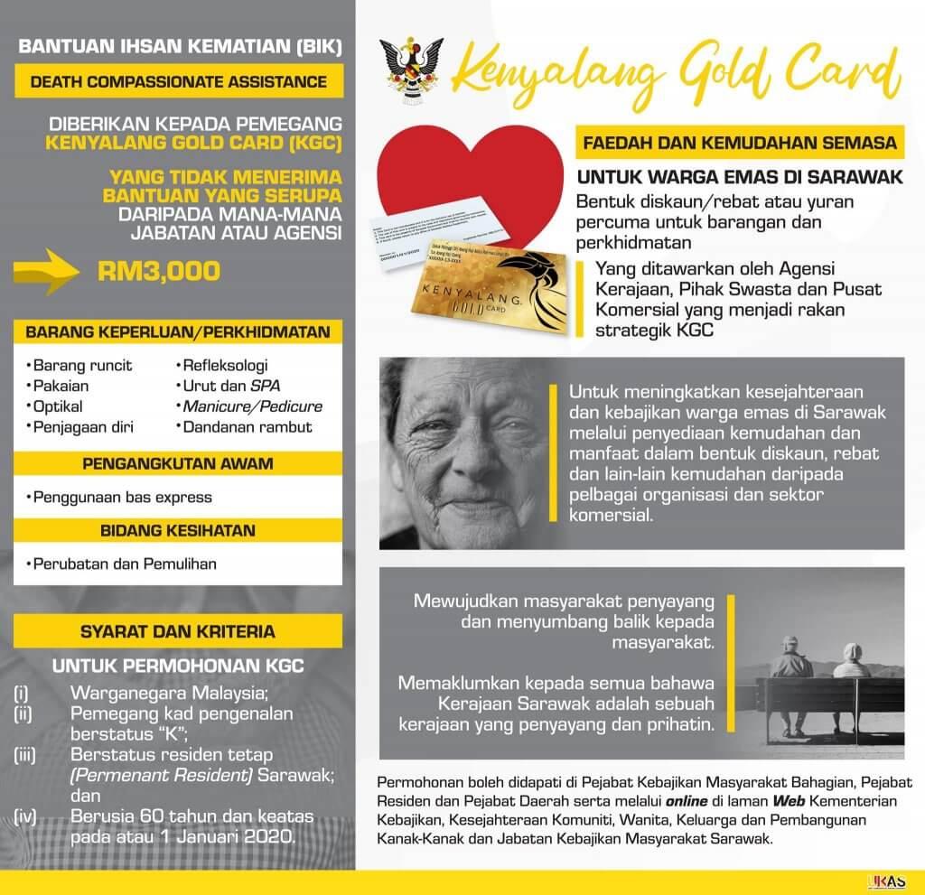 Ini Panduan Ringkas Untuk Anda Dapatkan Kenyalang Gold Card