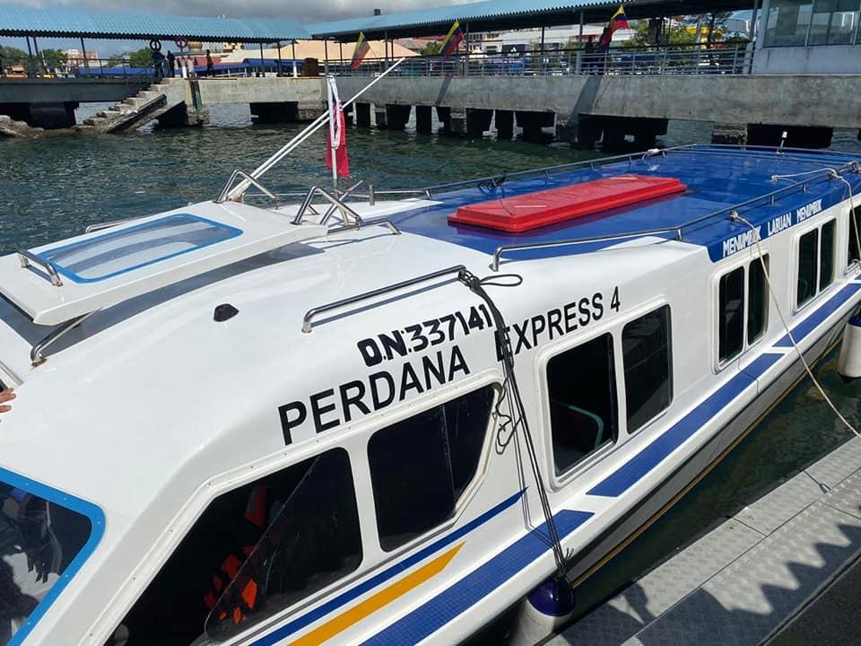 Tak Perlu Risau Tiket Habis, Feri Labuan Ke Sabah dan Sarawak Kini Guna Sistem E-Tiket