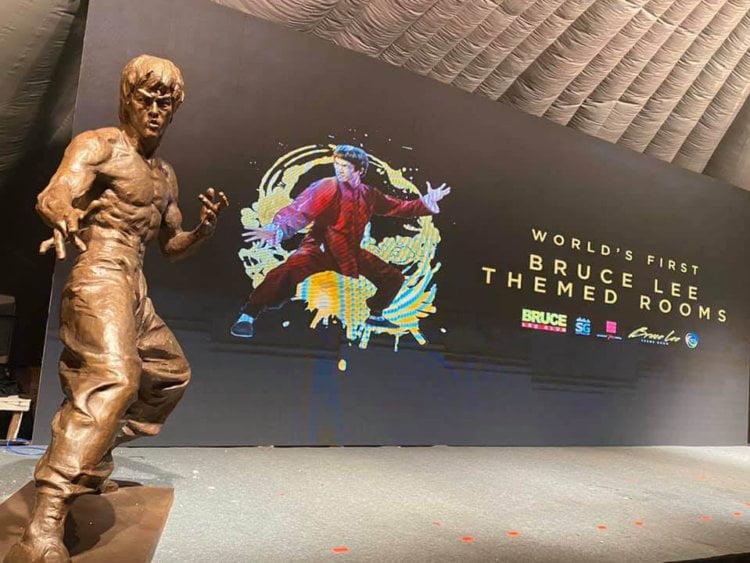 Hotel Bertemakan Bruce Lee Yang Pertama Di Dunia Akan Dibuka Di Sabah
