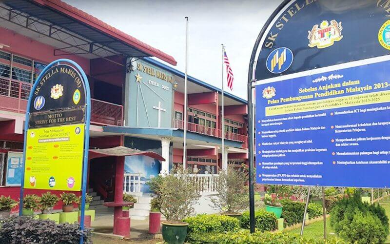 SK Stella Maris Tanjung Aru Sekolah Pertama Ditutup Kerana H1N1 Di Sabah