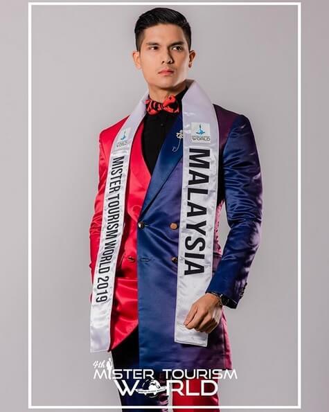 Gelaran Mister Tourism World Sah Milik Jejaka Kacukan Sabah, Daniel Hansen