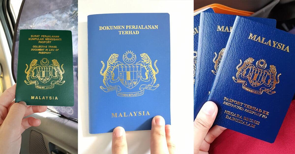 Tak Semua Guna Passport Merah Ini Dokumen Perjalanan Malaysia Yang Anda Perlu Tahu