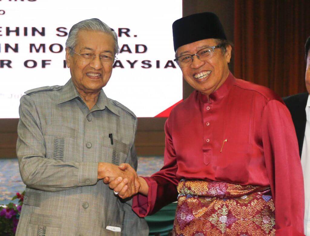 Kerajaan GPS Sarawak Dilapor Sokong Mahathir Jika Berlaku Perubahan Kerajaan Pusat
