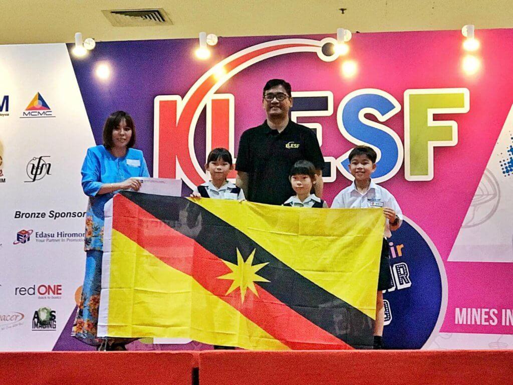 Pelajar Sarawak Menang Emas Pertandingan Inovasi Antarabangsa