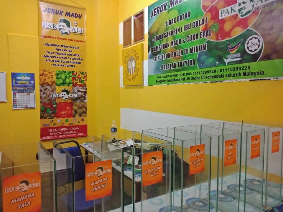 Jeruk Ikonik Pulau Pinang, Jeruk Pak Ali Bakal Dibuka Di Kota Kinabalu
