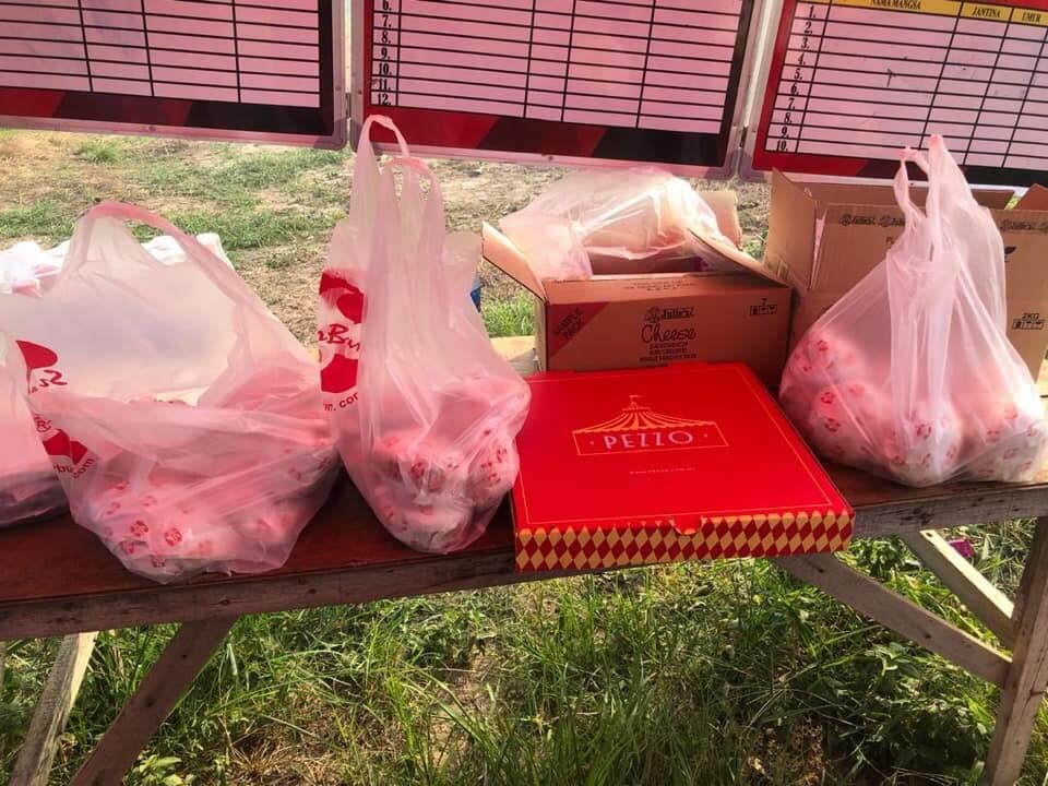 Dapat Burger Dan Pizza, Bomba Terharu Usaha Padam Kebakaran Di Kuala Baram Dihargai