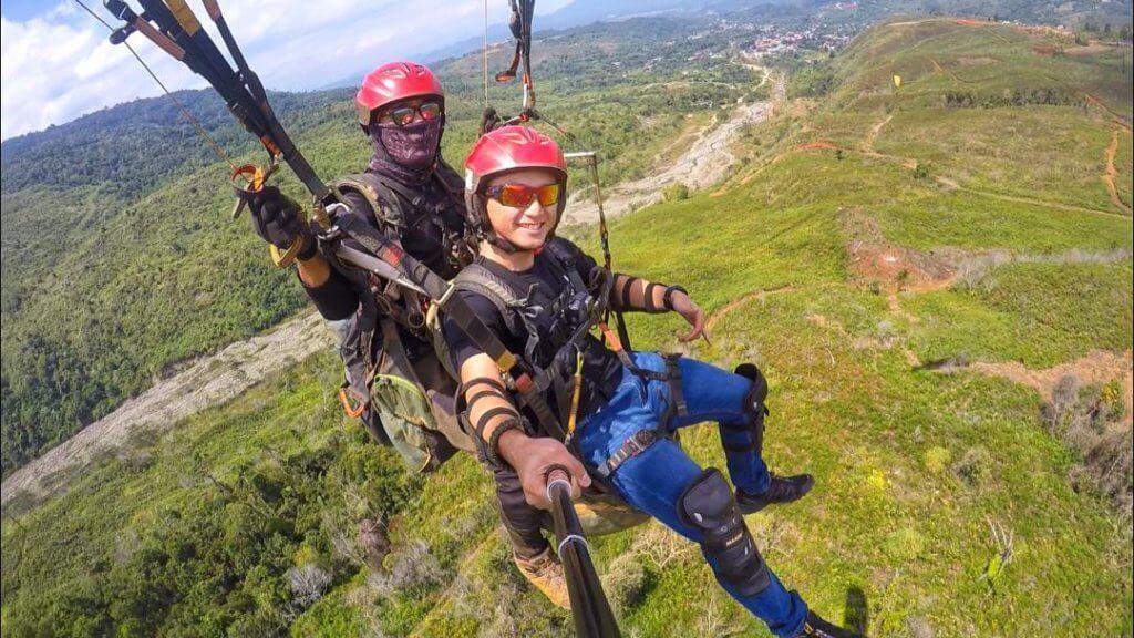 Ranau, Sabah Syurga Peminat Sukan Menarik Paragliding