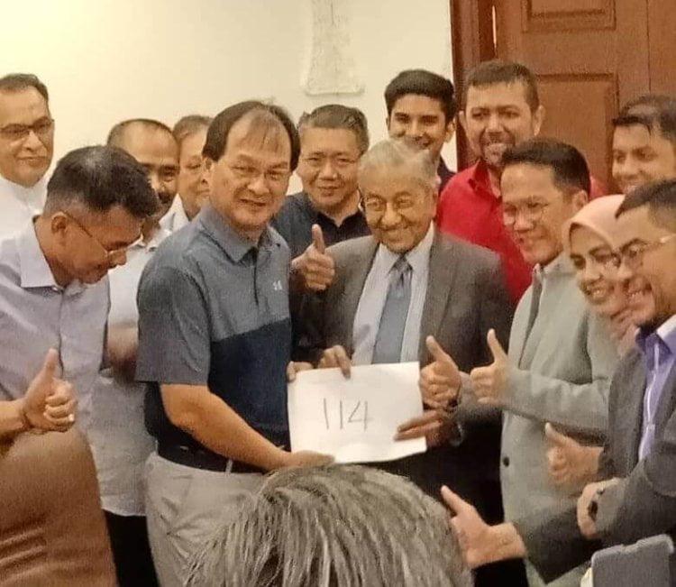 Baru Bian telah disahkan menandatangani SD