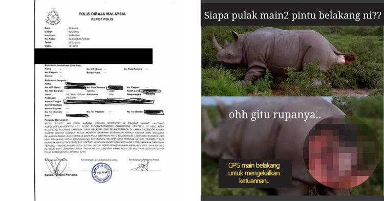 Polis Siasat Netizen Keluarkan Gambar Karikatur Hina Ketua Menteri Sarawak