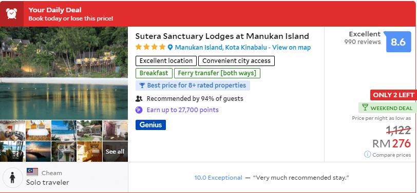 Tiada Pelancong Dari China, Hotel Di Kota Kinabalu Tawar Diskaun Gila Gila
