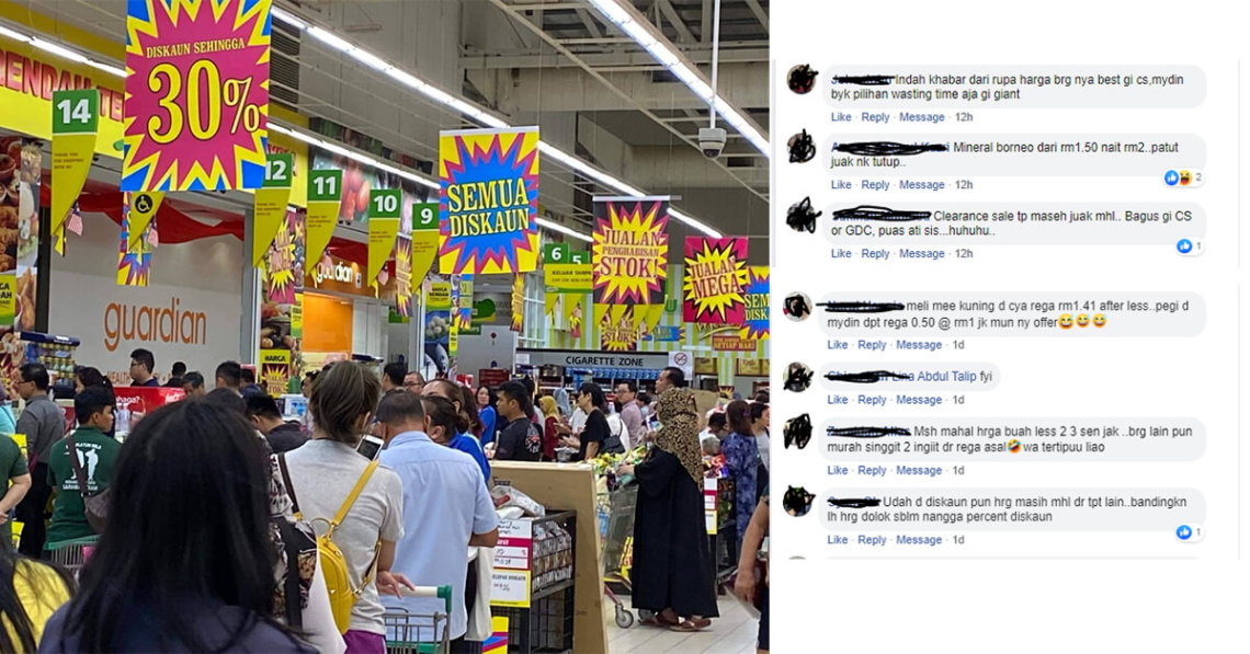 Clearance Sale Indah Khabar Dari Rupa, Netizen Kecam Pasaraya Terkemuka