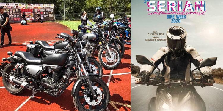 Serian International Bike Week 2020 Bakal Gegarkan Serian April Ini