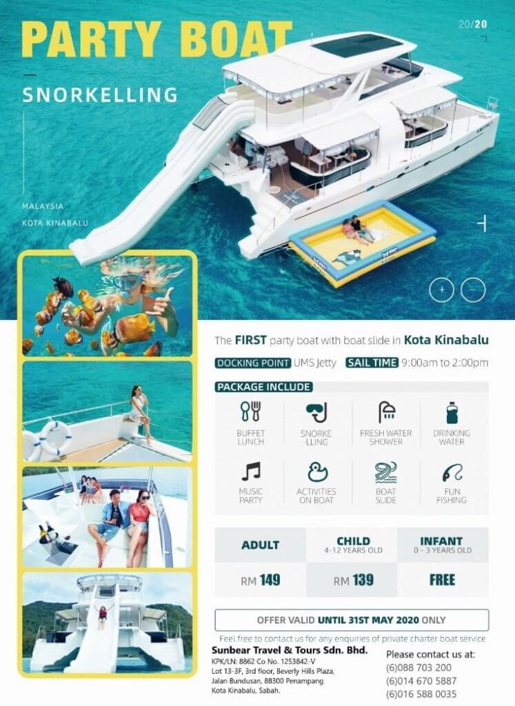 Dengan Bajet Bawah RM 150, Anda Kini Boleh Menaiki Cruise Bot Mewah Di Teluk Sepanggar