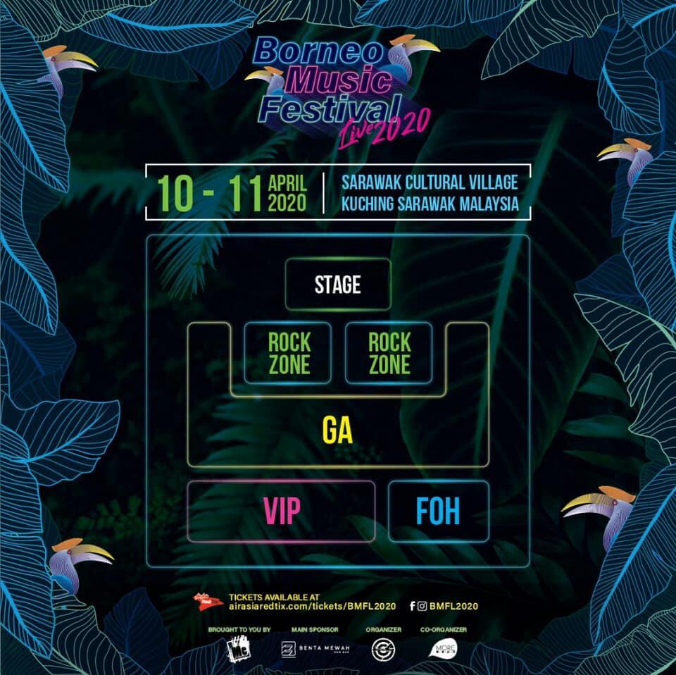 4 Festival Muzik Di Sarawak Yang Anda Mesti Terjah Tahun Ini