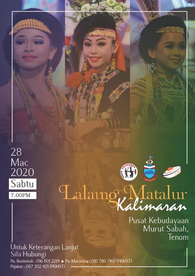 Meriahkan Pesta Kalimaran, Perayaan Kaum Murut Di Sabah Bermula 26 Mac Ini