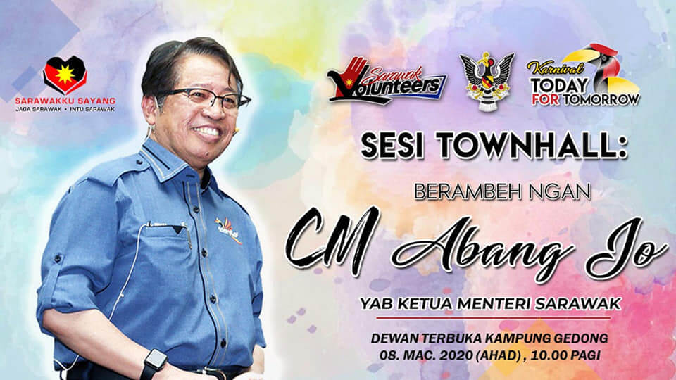 Ketua Menteri Sarawak Kongsi 3 Syarat Untuk Bentuk Kerajaan BN Plus GPS