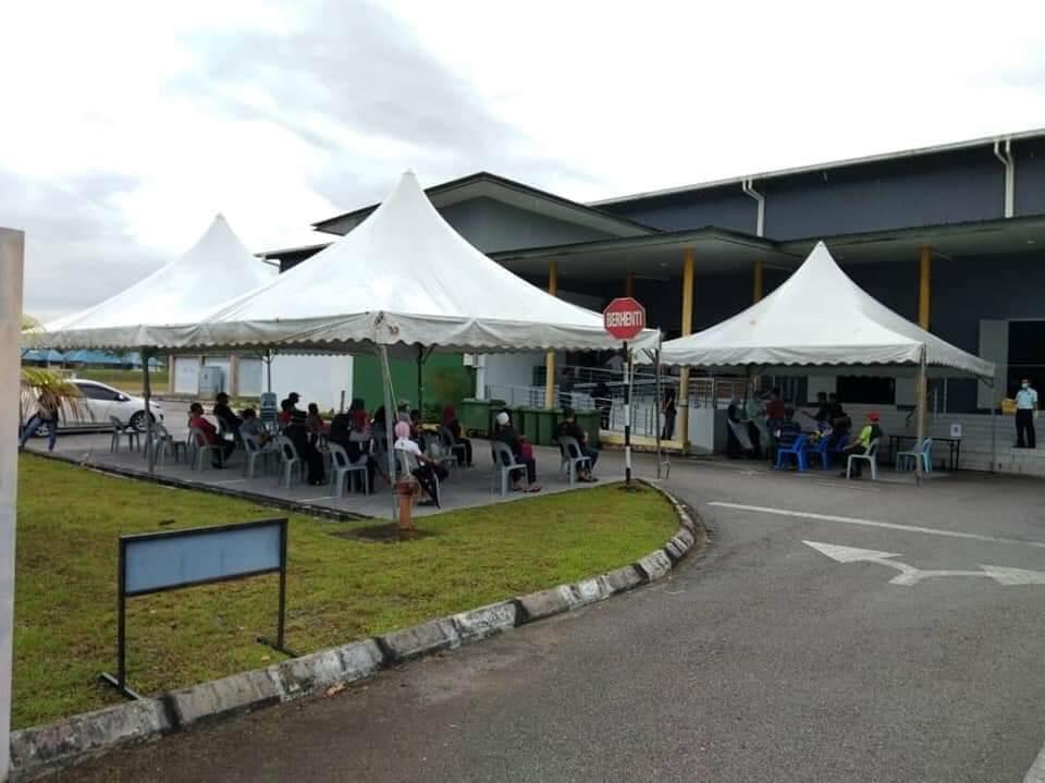 Klinik Khas Penyakit Pernafasan Dibuka Di Arena Boling Padang, Stadium Perpaduan Kuching