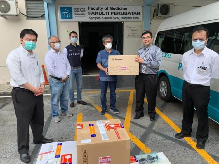 Individu Misteri Derma Mesin PCR Bernilai RM148 Ribu Untuk Hospital Sibu