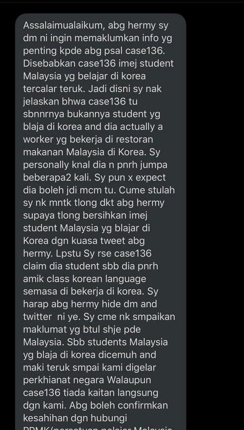 #Patient136 Trending Di Malaysia, Netizen Dakwa Lelaki Ini Punca COVID-19 Gelombang Kedua
