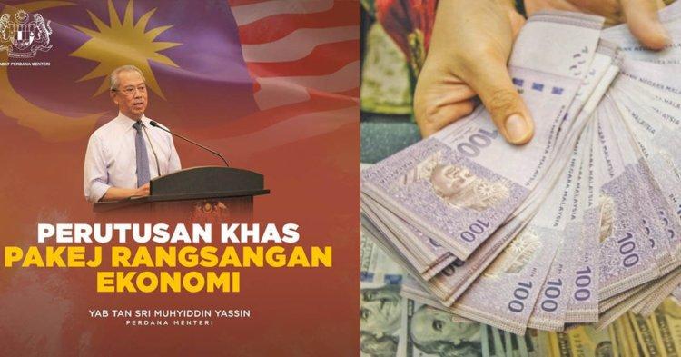 Perdana Menteri Umum Bantuan RM1600 Kepada Rakyat Berpendapatan RM4000 Ke Bawah