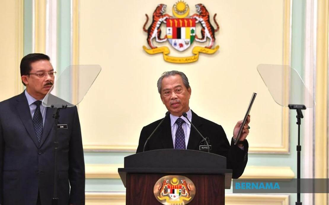 14 Orang Ahli Parlimen Dari Sabah dan Sarawak Dilantik Sertai Kabinet Kerajaan Malaysia Yang Baharu